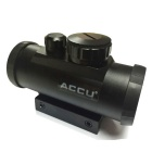 ACCU 1X 33mm Rojo / Verde Punto Visión Rifle Scope - Negro