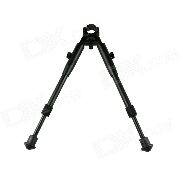 ACCU Retractable Aluminum Alloy Tactical Bipod Rifle Stand for 19mm Barrel - Black (Max. 10kg)