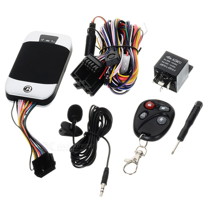 COBAN GPS303-D Portable Waterproof Car GPS / GSM / GPRS Personnel Tracker w  / Remote Controller