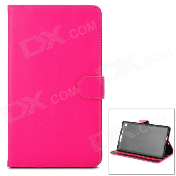 Protective PU Leather Case for Google Nexus 7 II - Deep Pink ballu bwh s 100 nexus