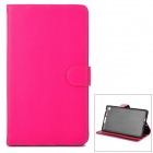 Protective PU Leather Case for Google Nexus 7 II - Deep Pink