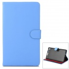 Protective PU Leather Case for Google Nexus 7 II - Light Blue