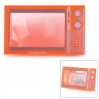 "1.8X Tele phone Vision Television Style 7.2 "" Screen Magnifier - Reddish Orange"
