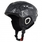 PROPRO SHM-001 Protective ABS + EPS Helmet for Skiing - Black