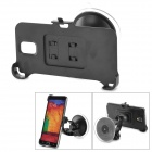 ABS Car Suction Cup Mount Holder for Samsung Note 3 N9006 - Black