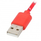 Micro USB to USB Data Charging Cable for LG Nexus 5 More - Red (2m)