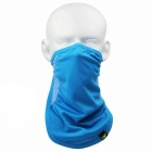 QINLONGLIN FE-04 Outdoor Double Triangle Mask - Blue (Free Size)