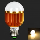ZHISHUNJIA E27 7W 380lm 14-SMD 5730 LED Warm White Light Lamp Bulb (AC 85~265V)