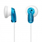 Genuine Sony MDR-E9LP Earbud Headphones - Blue