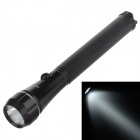 Small Sun ZY-513 80lm 6000K 1-LED White Light Flashlight - Black (2 x AA)