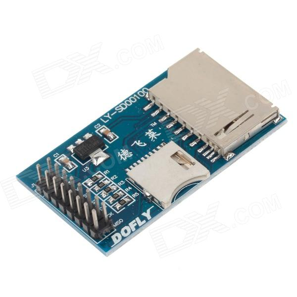 DOFLY CG06NG021 Micro SD Card Module MCU Development Board - Blue