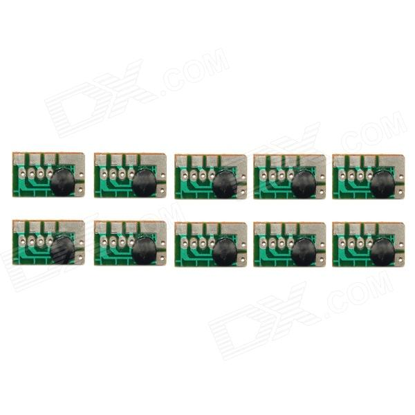 Jtron DIY IC Music Module - Green (10 PCS) dop b07s415 90% appearance new 3 months warranty in stock