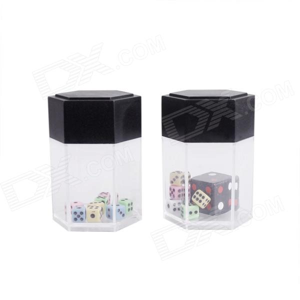 Big Colorful Dice for Magic - Multicolored