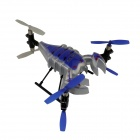 YD713 4-Channel TheNew Six-Axis Flight Control System Of The Scorpion Remote Control Aircraft - Blue
