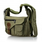 DSTE Cowboy Canvas One Shoulder Bag for Canon Nikon Sony Samsung Fuji Pentax Panasonic Camera