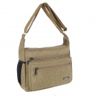 Aslant Sports Casual Message Bag - Khaki