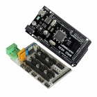 Reprap 3D Ramps Shield V1.4 Motor Driver Module Expansion Board + Mega 2560 R3 ATmega2560-16AU Board