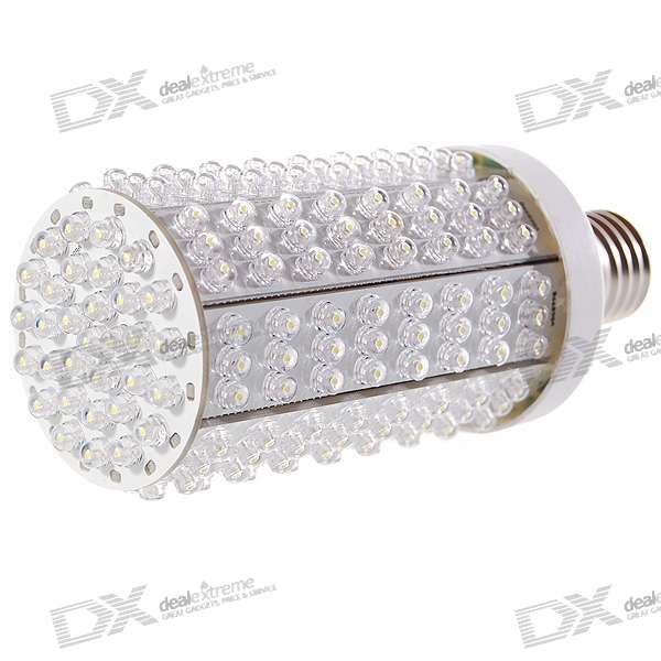 E27 15W 1000LM 6000K Cold White 224-LED Corn Cob Bulb (180~240V)