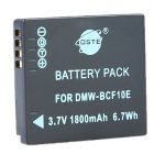 DSTE DMW-BCF10GK BCF10E BCF10 S009E Battery Charger for DMC-FT1 FT3 TS3 FS4 FS6 FS7 Camera