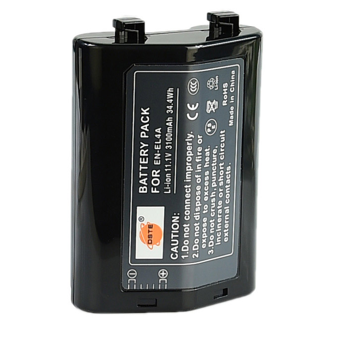 DSTE EN-EL4a Battery for Nikon D2X D3S D2H D2Hs D3 D2Xs Digital SLR Camera MB-40 MB-D10 Grip  цена