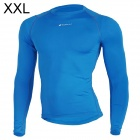 NUCKILY MH003 Men's Outdoor Cozy Sports Jersey for Hiking / Cycling - Blue (XXL)