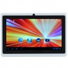 HAVIT HV-T701 7'' Android4.0.4 Tablet PC w/ 512M RAM / 4G ROM / TF / Camera / Wi-fi - White + Black