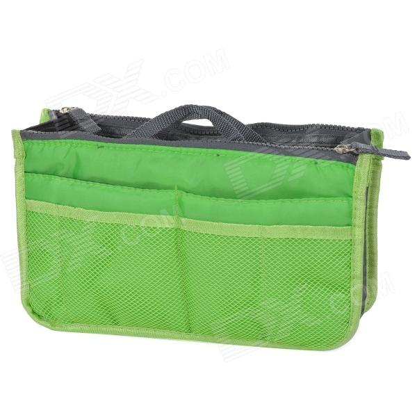 Water Resistant Nylon Outdoor Goods Management Storage Bag - Green
