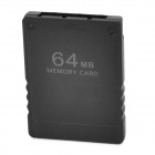 Plastic Memory Card for PS2 - Black (64MB)