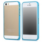 Protective Aluminum Alloy Bumper Frame Case for Iphone 5 / 5s - Blue