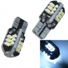 CHEERLINK T10 1W 200lm 24-SMD 3020 LED White Car License Plate Light / Clearance Lamp -(12V / 2 PCS)