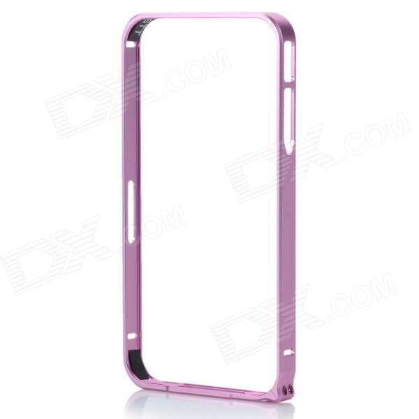 Protective Aluminum Alloy Bumper Frame Case for Iphone 4 / 4s - Pink
