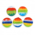 XBOX 360 / XBOX 360 Slim / XBOX One Game Controller Protection Silicone Cover - Multicolored (5 PCS)
