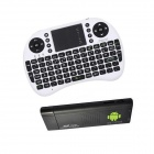 Ourspop M9B + i8 Air Mouse Dual-Core Android 4.2.2 Google TV Dongle w / 1GB RAM / 8GB ROM - EU-Stecker