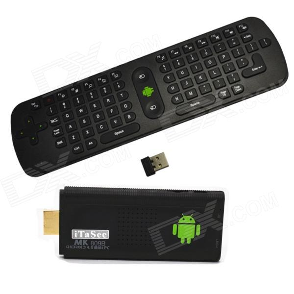 iTaSee MK809BII + RC11 Air Mouse Dual-Core Android 4.2 Google TV Player w/ 1GB RAM / 8GB ROM / HDMI