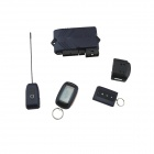 "B92 Two Way Car Alarm System w/ 1.5"" LCD Remote Controller / Alarm System for Russian - Deep Blue"