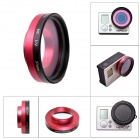 Fat Cat Professional High Transmittance 37mm FPV Protective MC UV Lens for Gopro Hero3+ / Hero3