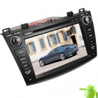 "LsqSTAR 8"" Android 4.0 Car DVD Player w/ GPS,TV,RDS,BT,PIP,SWC,Can Bus,3D-UI,Dual Zone for MAZDA 3"