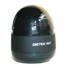 GETEK GK- A12 Rechargeable Bluetooth V3.0 + EDR Wireless Portable Speakers - Black