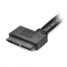 "eSATA + USB to 7+9pin Cable for 1.8"" Solid State Disk / SSD - Black (55cm)"