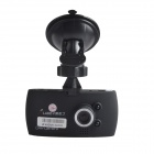 "ALADDN A808 2.7"" TFT LCD 1080P 5.0 MP Wide Angle Car Black Box DVR Camcorder w/ 2-IR LED - Black"