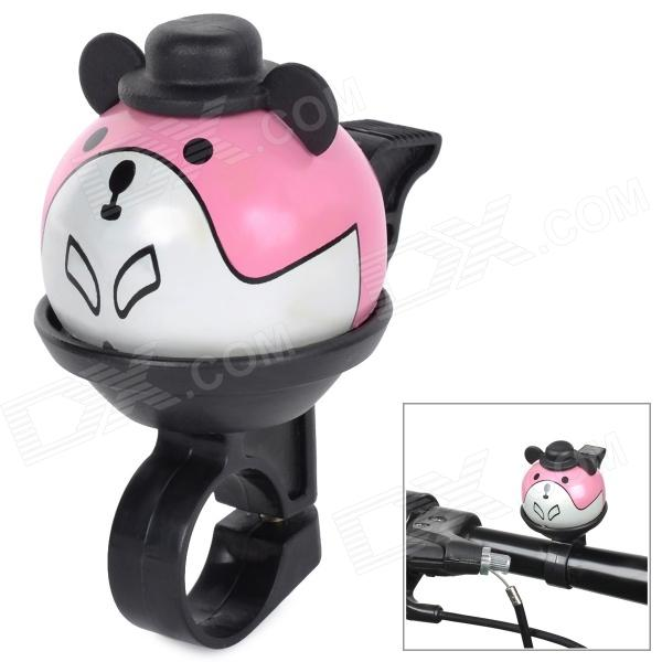 Cute Cartoon Style Aluminum Alloy + Plastic Bike Bell - Black + Pink