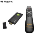 Ourspop M9B + Rii R900 Air Mouse Двухъядерный Android 4.2.2 Google TV Player ж / 1GB RAM / ROM 8GB США