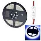 HML Waterproof 72W 14000lm 9000K 300 x SMD 5730 LED Cool White Light Strip w/ Mini Controller (5M)