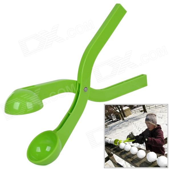 ABS Snowball Maker Clip Tool - Green