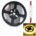HML 72W 14000lm 3300K 300 x SMD 5730 LED Warm White Light Strip w/ Mini Controller - (5M / 12V)