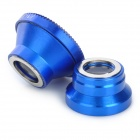 Universal 3-in 1 Fish Eye+ Macro Lens+ 0.67X Wide Angle Lens Set for Cell Phone / Pad - Deep Blue