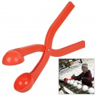 ABS Snowball Maker Clip Tool - Red
