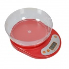 "Befeel KE-2 1.7"" LCD Digital Kitchen Scale (5kg / 1g / 2 x AA)"