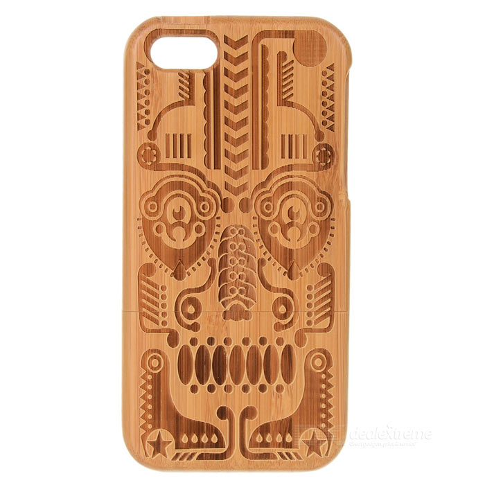 Totem Pattern Protective Back Case for Iphone 5C - Light Brown аксессуар защитное стекло samsung galaxy s8 plus onext 3d gold 41266