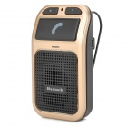 60i Voice Control Car Bluetooth V3.0 Handsfree Telephone - Black + Golden